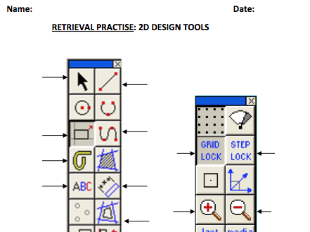 2D Design Tools