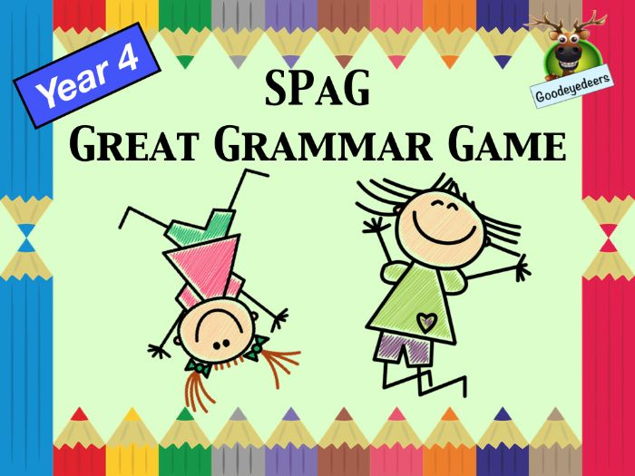 SPaG - A Great Grammar Game for Year 4