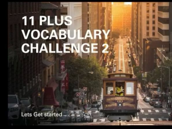 Vocabulary challenge Test
