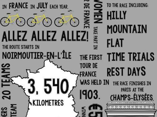 Tour de France Infographic 2018