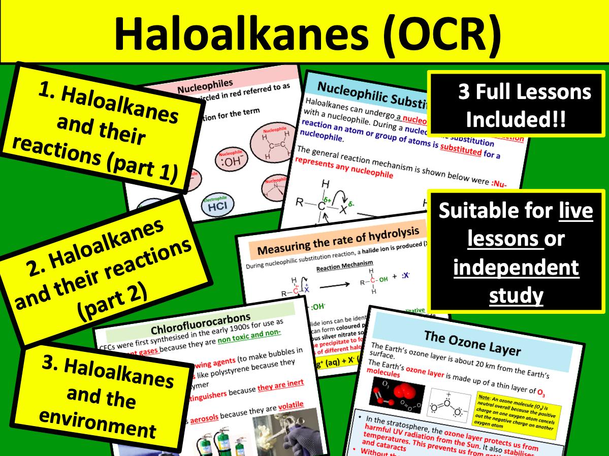 Haloalkanes OCR