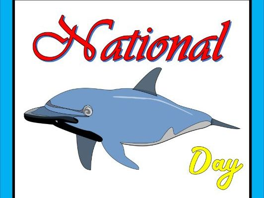 National Dolphin day - Comprehension passage with Questions
