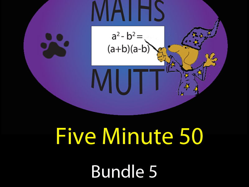Five Minute Fifty : Bundle 5