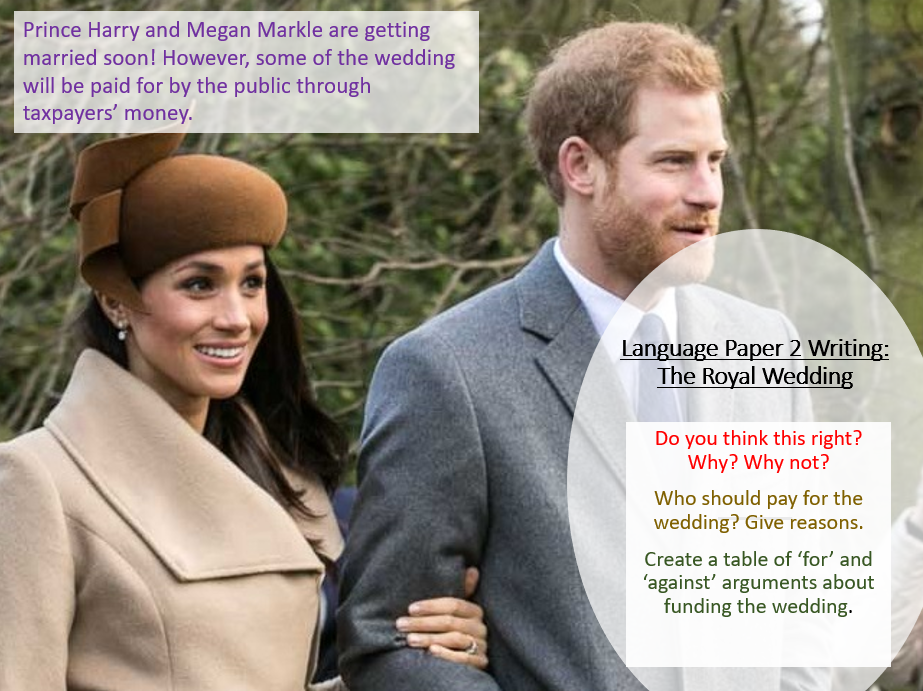 Royal Wedding - Writing to Argue