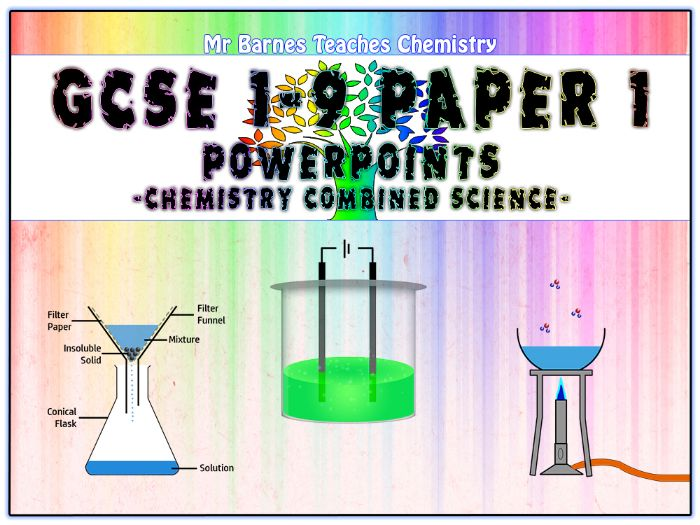 GCSE Combined Science 1-9 - Chemistry Paper 1 PowerPoints