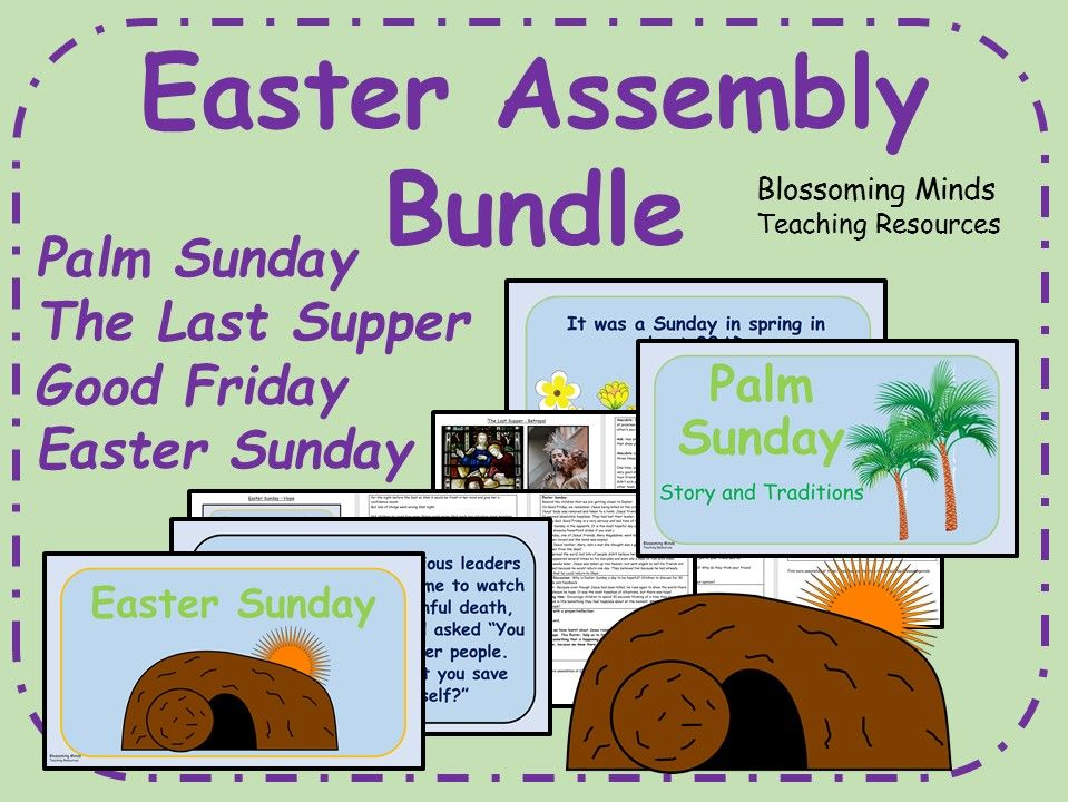 Easter Assembly Bundle (Holy Week)