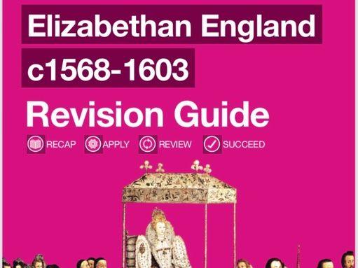 AQA 9-1 History Elizabethan England Revision Guide