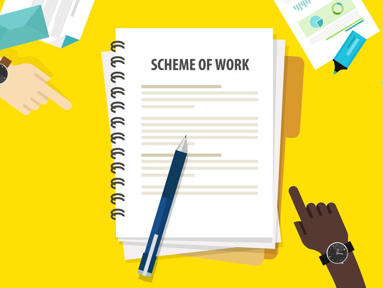 New GCSE- Complete scheme of work