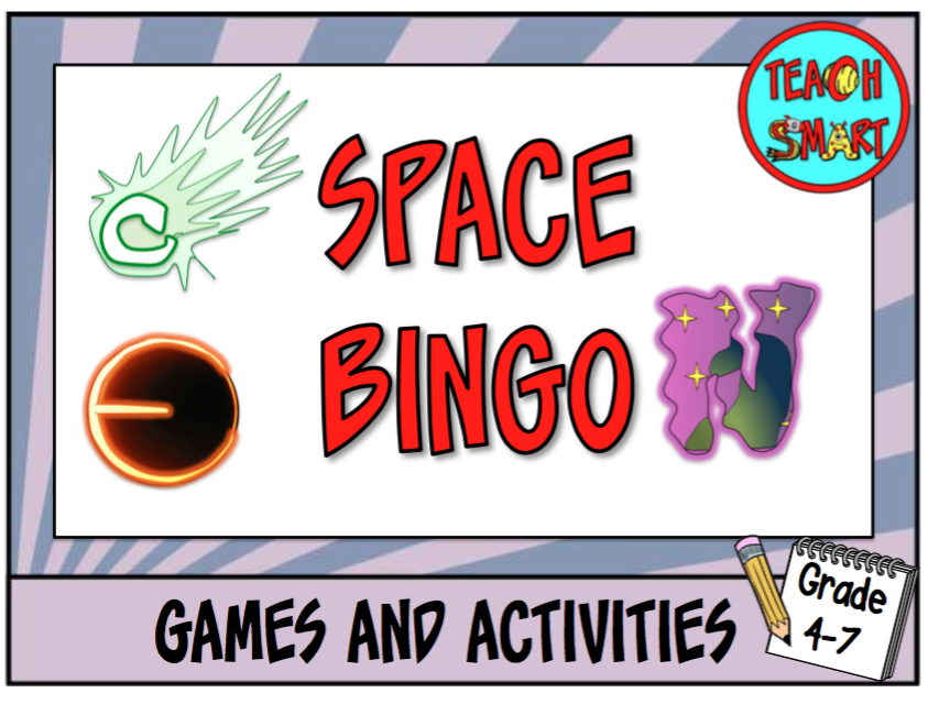 Space and the Solar System Bingo