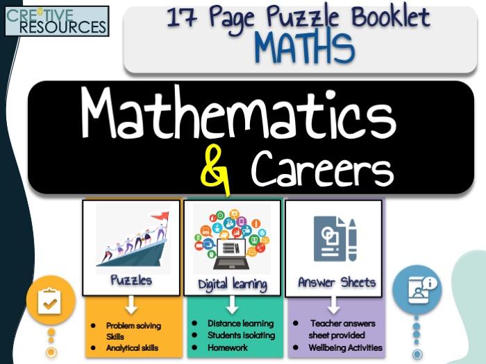 Careers + Mathematics