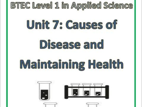 BTEC Level 1 in Science Workbook - Unit 7