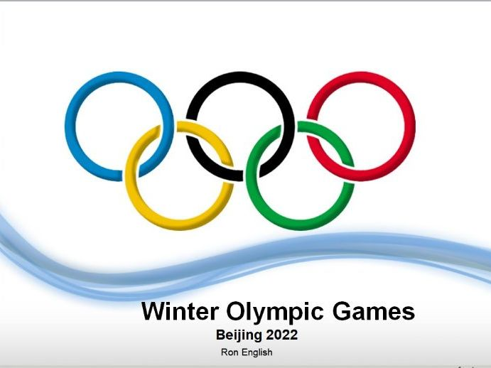 2022 Beijing Winter Olympics PPT
