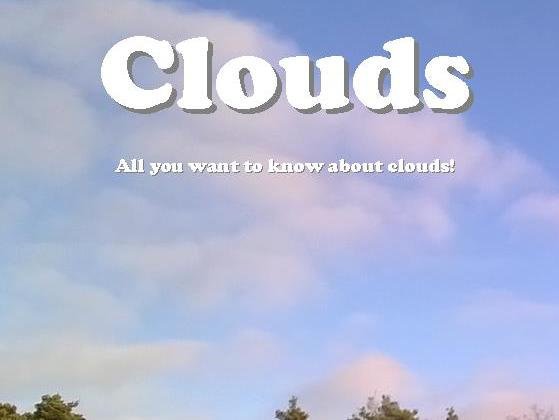 Early Reader Series 1: Clouds