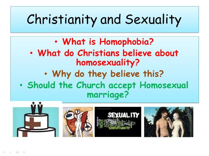 Christian Responses to Homophobia