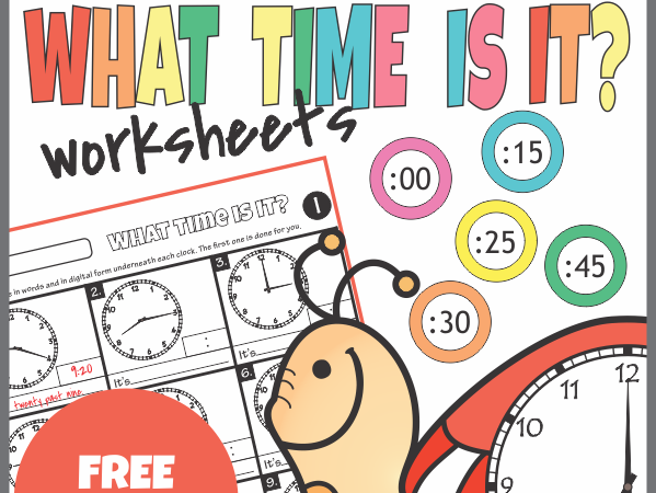 FREE Sample Telling Time Worksheets