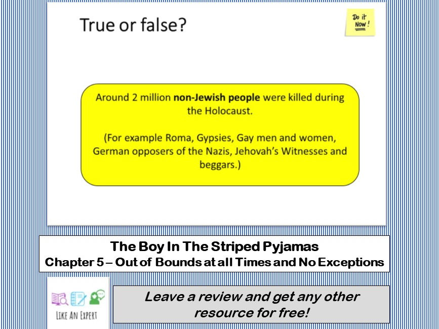Boy In The Striped Pyjamas - Chapter 5