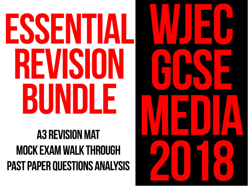 WJEC GCSE Media Essential Revision Bundle