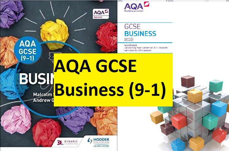 AQA GCSE 9-1 Business - Complete delivery bundle (all 6 units)