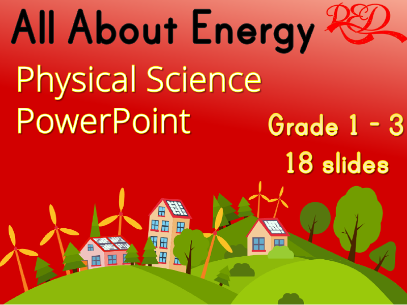 Energy Physical Science .ppt Lesson