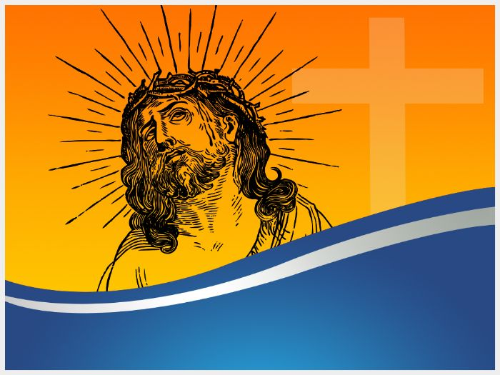 Jesus Christ Powerpoint Template By Templatesvision Teaching