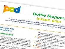 Bottle stoppers lesson plan