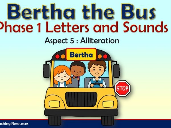 Bertha the Bus - Letters and Sounds Phase 1