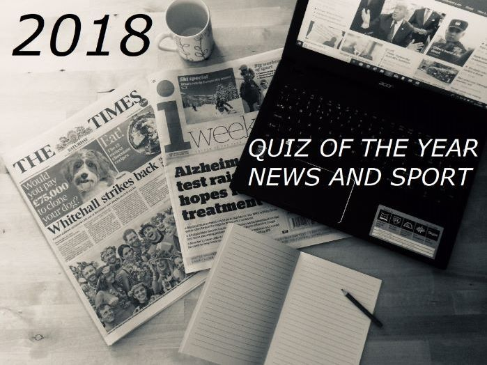 2018 Quiz of the Year News and Sport