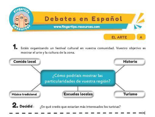 Arte - Debates in Spanish
