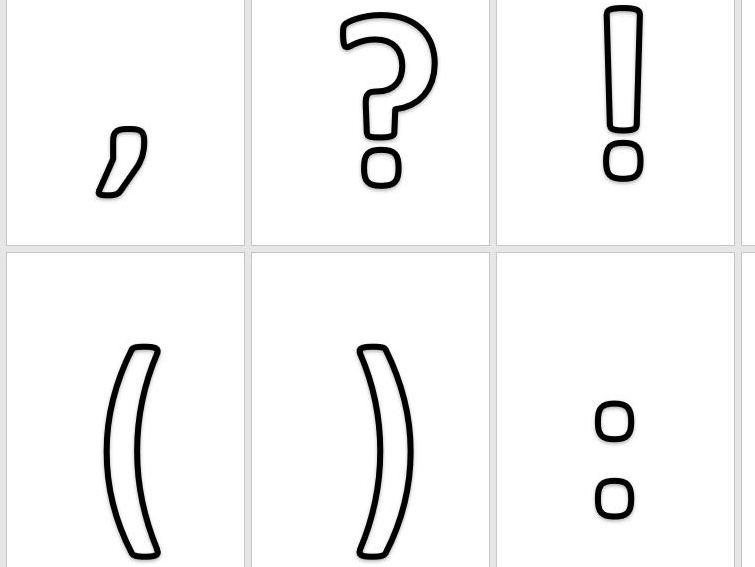 Symbols Stencils