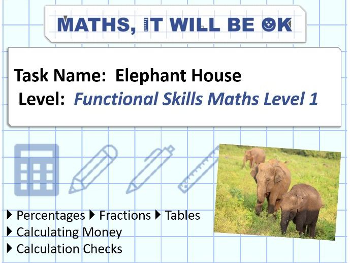 FS Maths Level 1 - Money - Elephant House - Exam Style