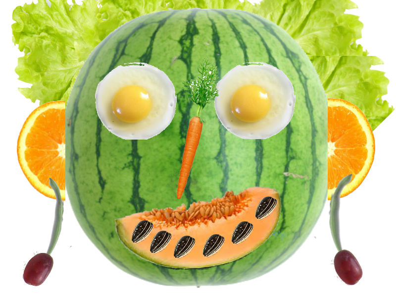Arcimboldo - Vegetable Art Lesson (Suitable for all ages)