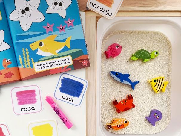 Colour Flashcards in English & Spanish