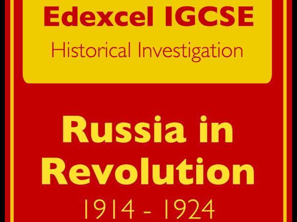 IGCSE Edexcel History: Russia 1914-1924