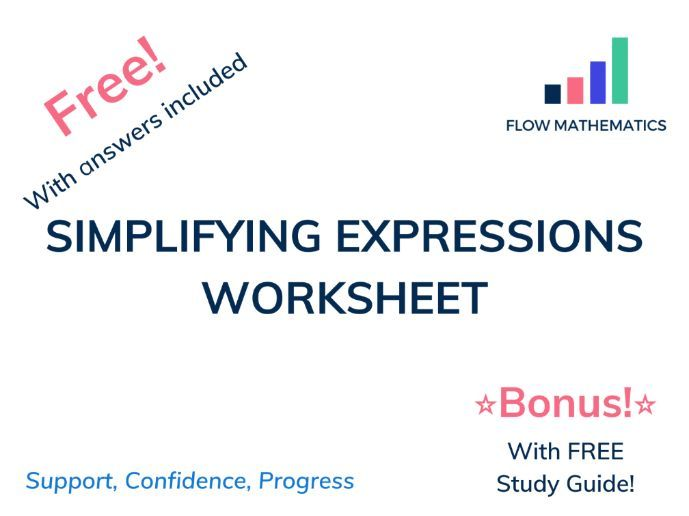 Simplifying expressions (collecting like terms)