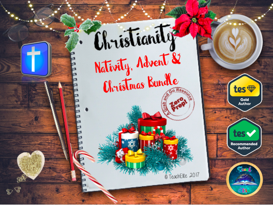 Nativity, Advent &  Christmas Bundle