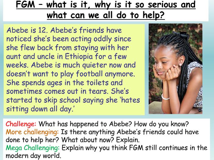 FGM - PSHE