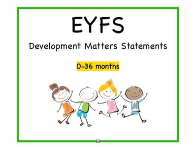 EYFS Cards, All Areas | Birth - 36 Months Statements