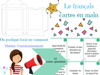Speaking cards French the environment