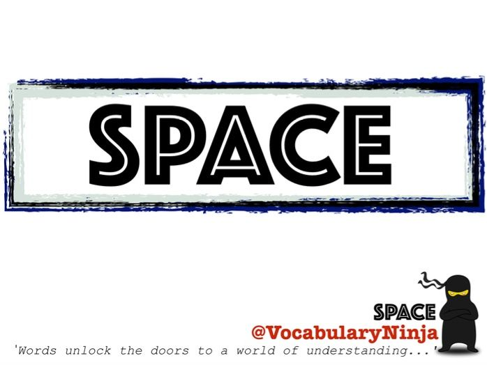 Space Topic Vocabulary Pack