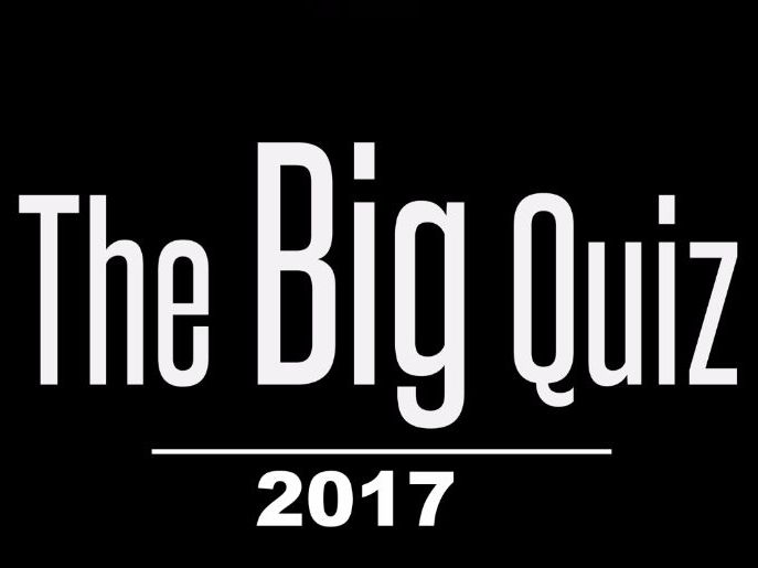 2017 General Knowledge Quiz - A fun quiz that's aimed at school aged students