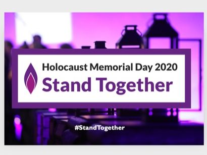 Holocaust Memorial Day 2020 PowerPoint - for assembly or lesson