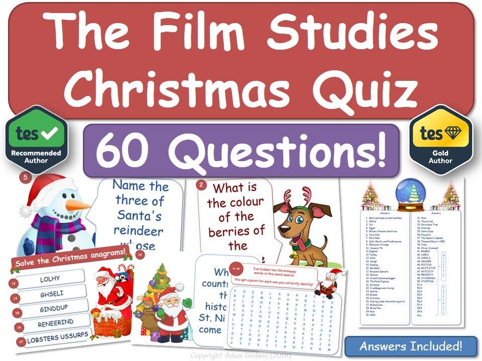 Film Studies Christmas Quiz!