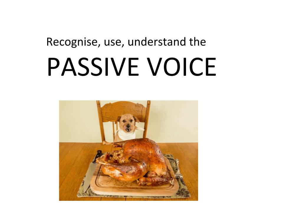 Passive and Active Voice Workbook for KS2/3