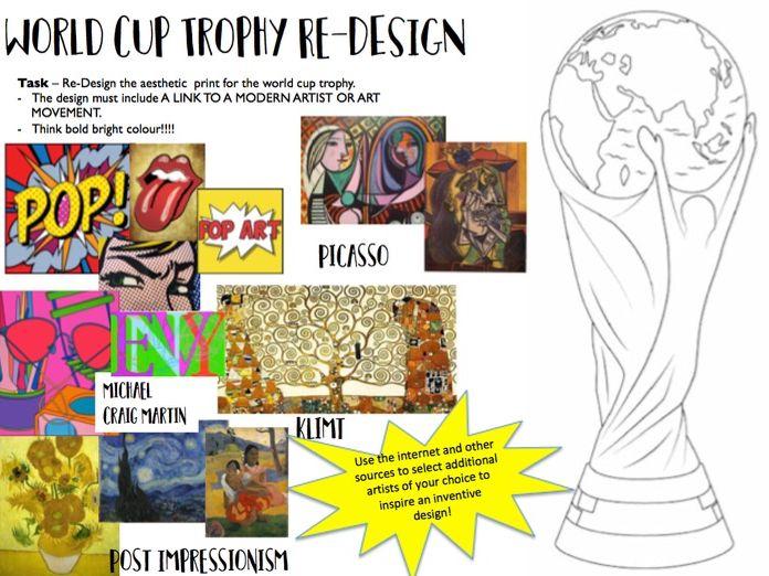 World Cup Trophy Re-Design