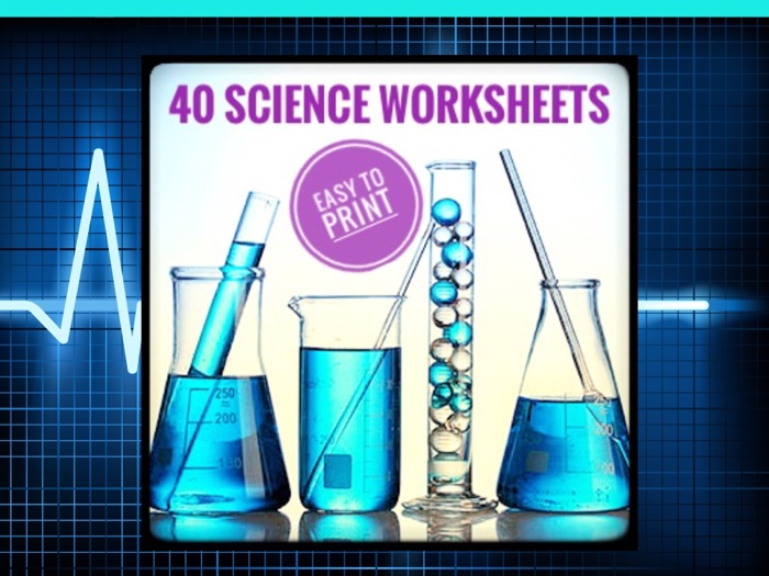 40 Science Worksheets