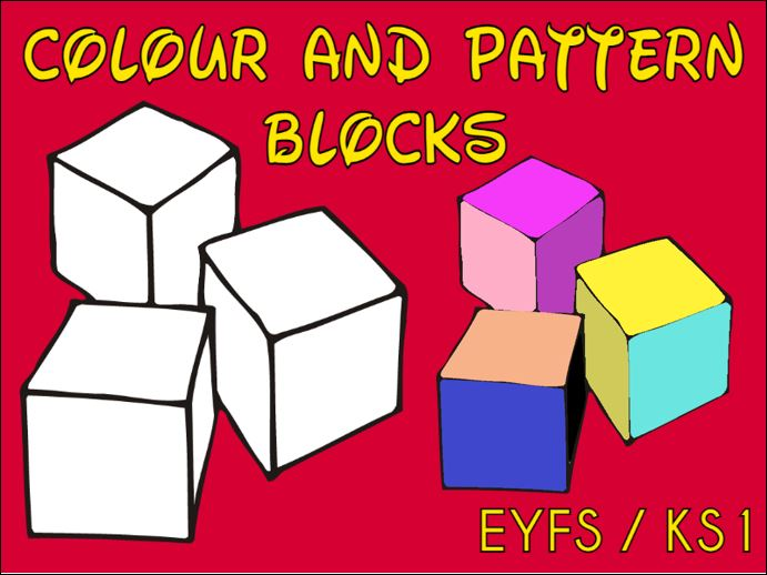Colour and Pattern Blocks EYFS / KS1
