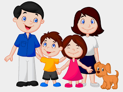 Family  and clothes in French - games and exercises primary or secondary!