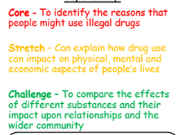 KS3/KS4 Drugs and alcohol work booklet