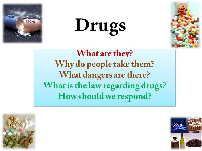 Drugs: What and Why