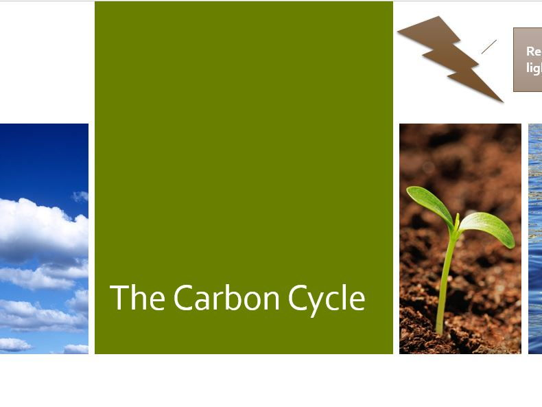 KS3 Earth and Atmosphere - The Carbon Cycle
